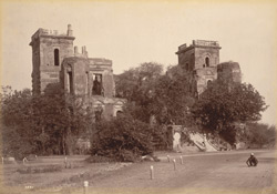 The Palace of Dilkusha whence Sir Colin Campbell advanced to the Relief of Lucknow, November 1857.